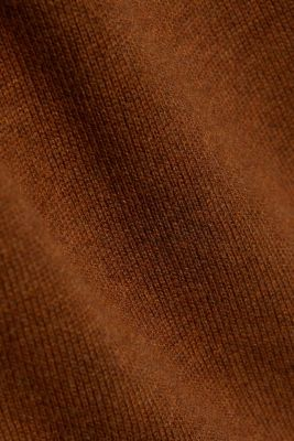 Essential knit dress containing organic cotton, TOFFEE, detail