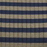 Rib knit dress in a striped look, LIGHT KHAKI, swatch