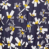 Dress with a floral print, made of LENZING™ ECOVERO™, NAVY 4, swatch