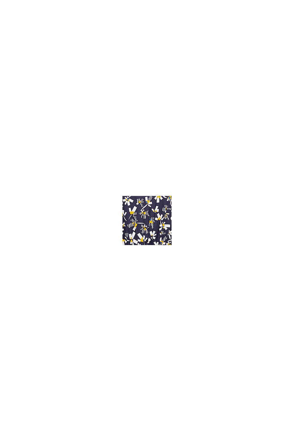 Kleid mit Blumen-Print aus LENZING™ ECOVERO™, NAVY, swatch