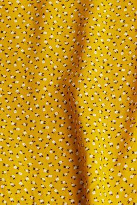 Blouse top made of LENZING™ ECOVERO™, BRASS YELLOW 4, detail