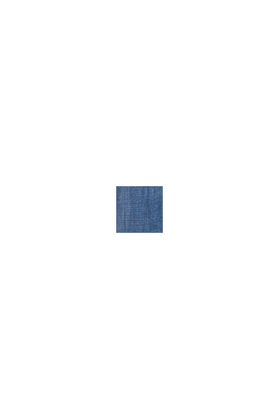 Z materiału TENCEL™: bluzka z denimu, BLUE MEDIUM WASHED, swatch