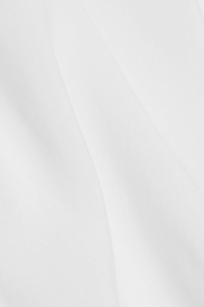 Henley blouse made of LENZING™ ECOVERO™, OFF WHITE, detail image number 4