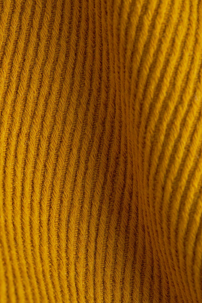 Coat with a detachable hood, BRASS YELLOW, detail image number 4