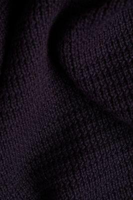 Hoodie made of 100% organic cotton, NAVY, detail