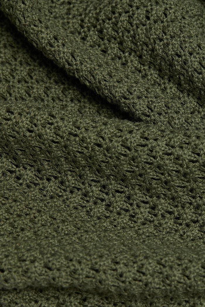 Jumper made of 100% organic cotton, KHAKI GREEN, detail image number 4
