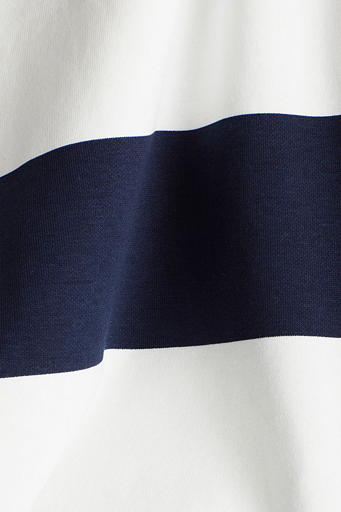 2-in-1 sweatshirt with organic cotton, NAVY, detail image number 4