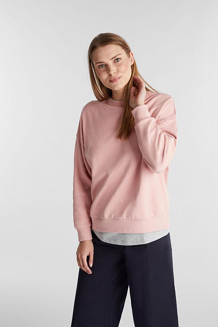 2-in-1 Sweatshirt mit Bio-Baumwolle