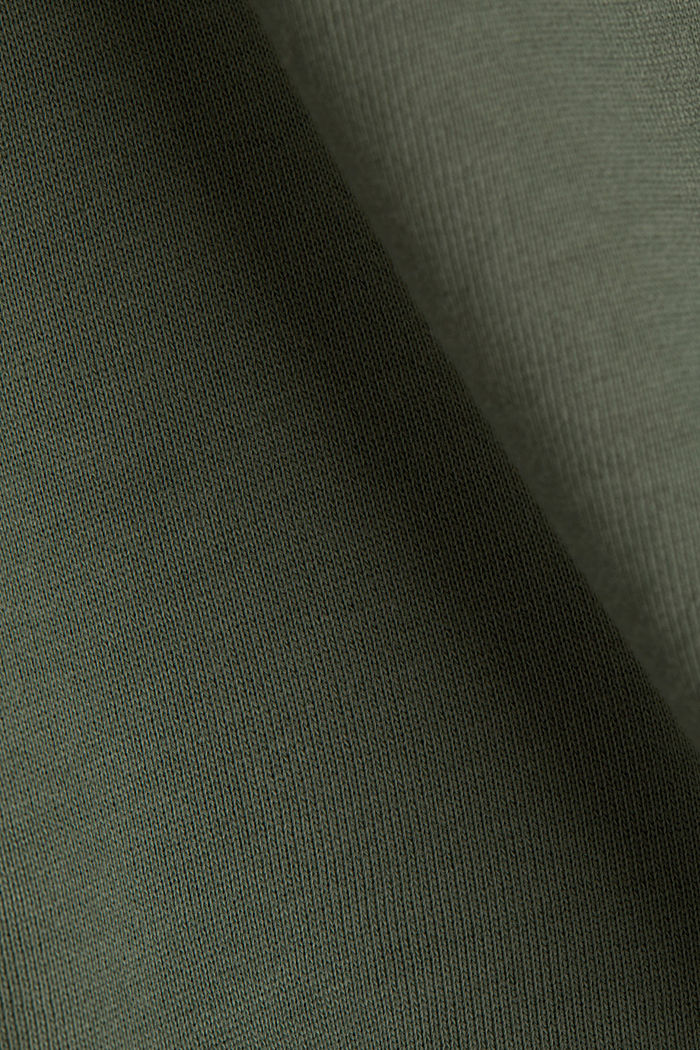 Hoodie aus 100% Organic Cotton, LIGHT KHAKI, detail image number 3