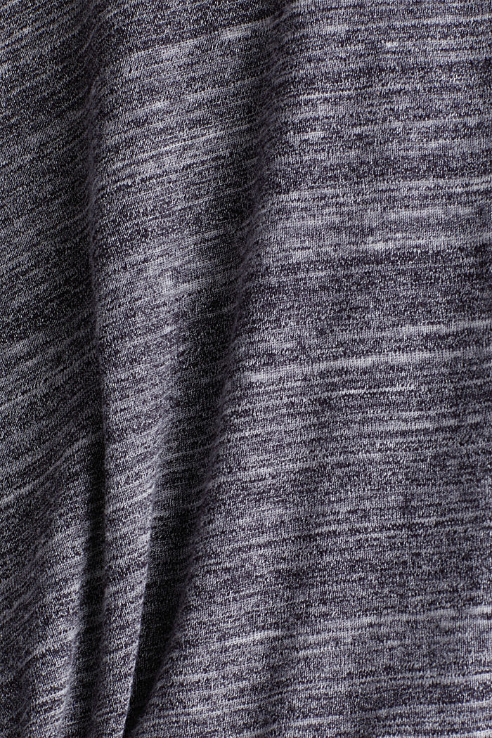 Recycled: hoodie containing organic cotton, NAVY, detail image number 4