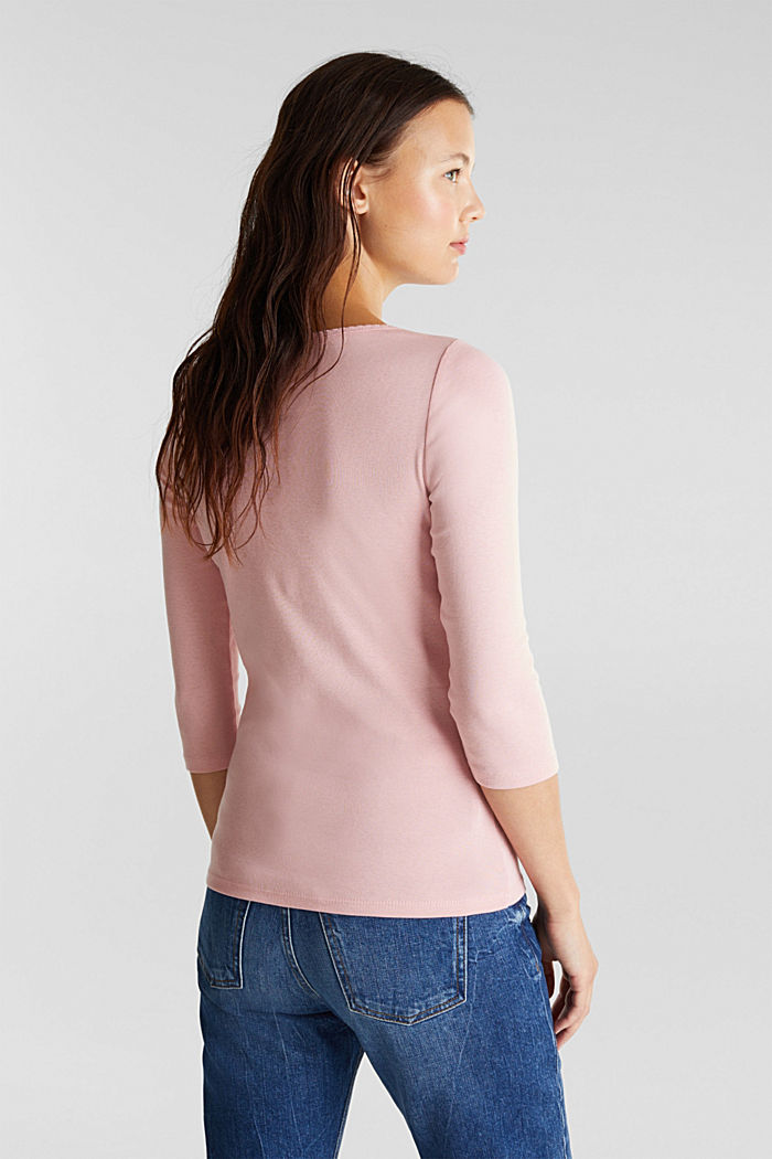 Jersey top made of 100% organic cotton, PINK, detail image number 3