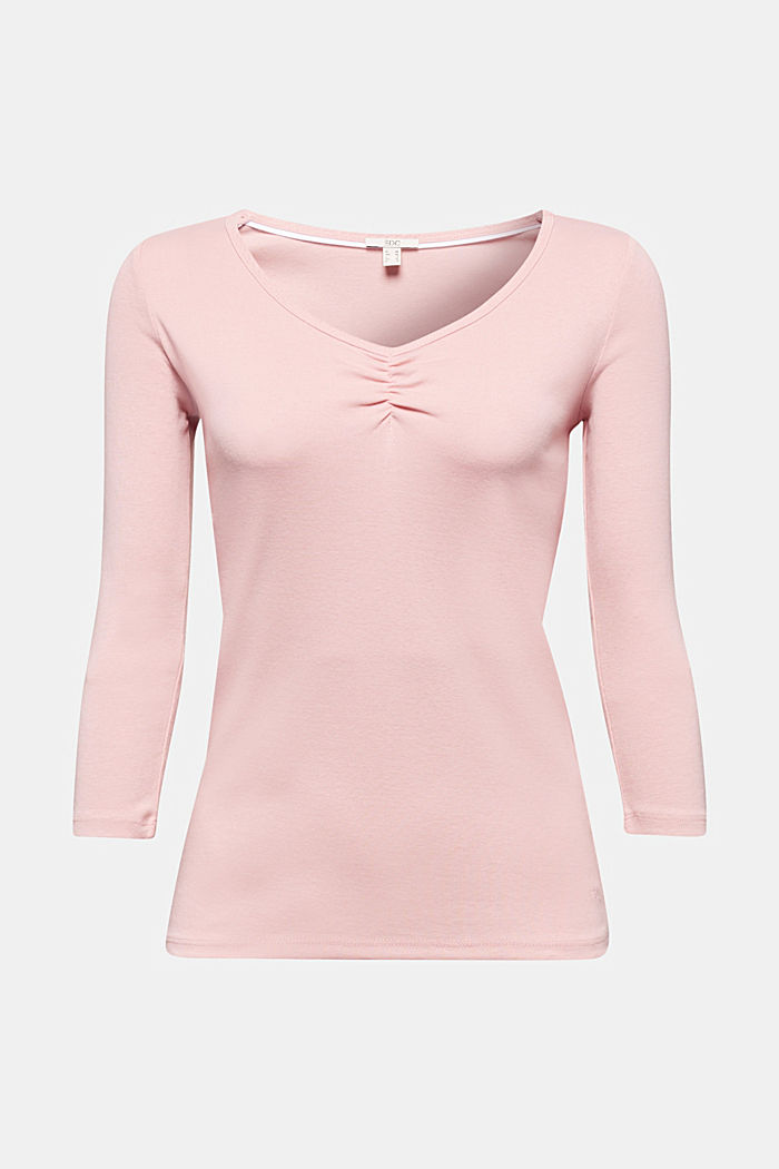 Jersey top made of 100% organic cotton, PINK, detail image number 6
