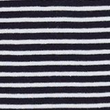 Striped top, 100% organic cotton, NAVY, swatch