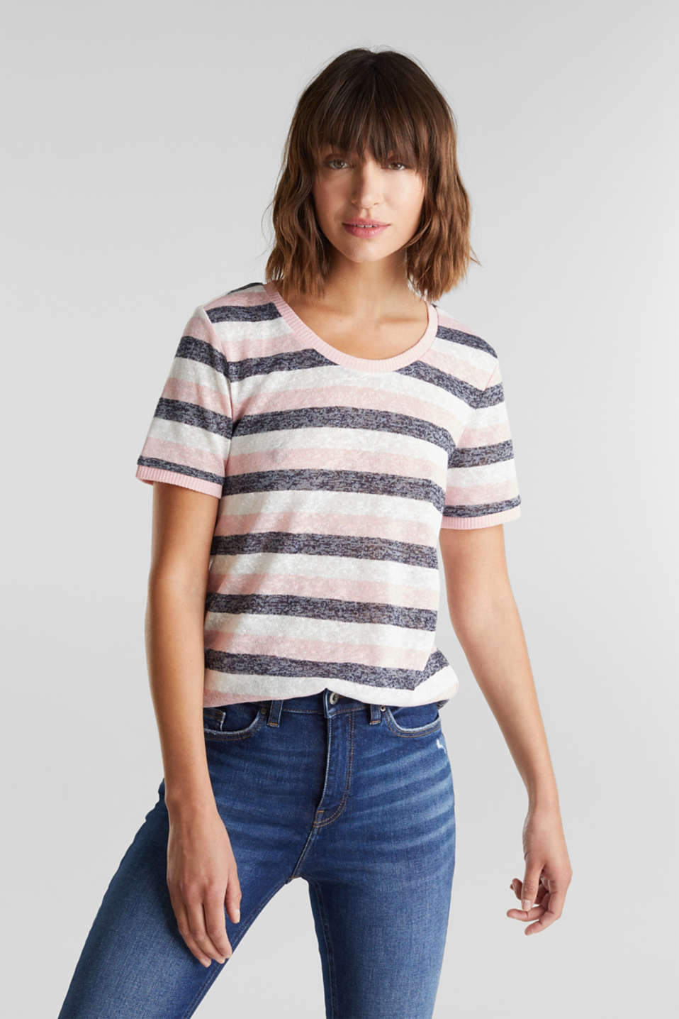 edc - Strick-Shirt mit Organic Cotton