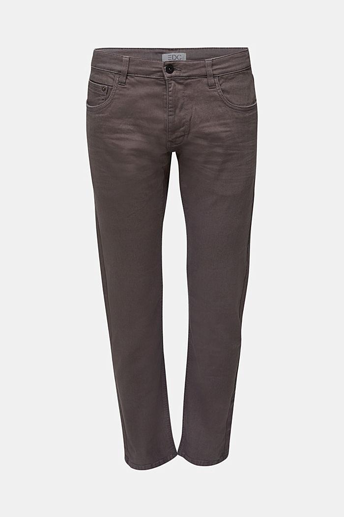 Hose aus Baumwoll-Stretch