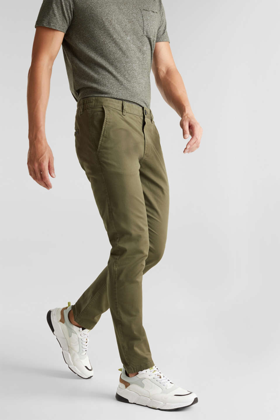 edc - Chino aus Baumwoll-Stretch