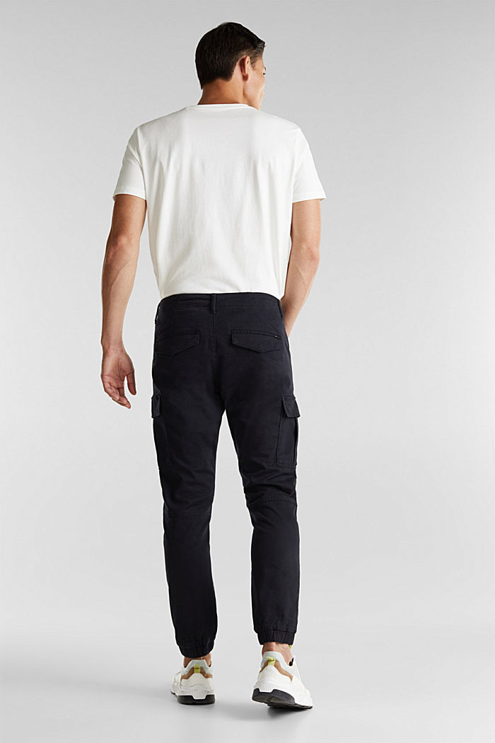 Cargo trousers containing organic cotton, BLACK, detail image number 3