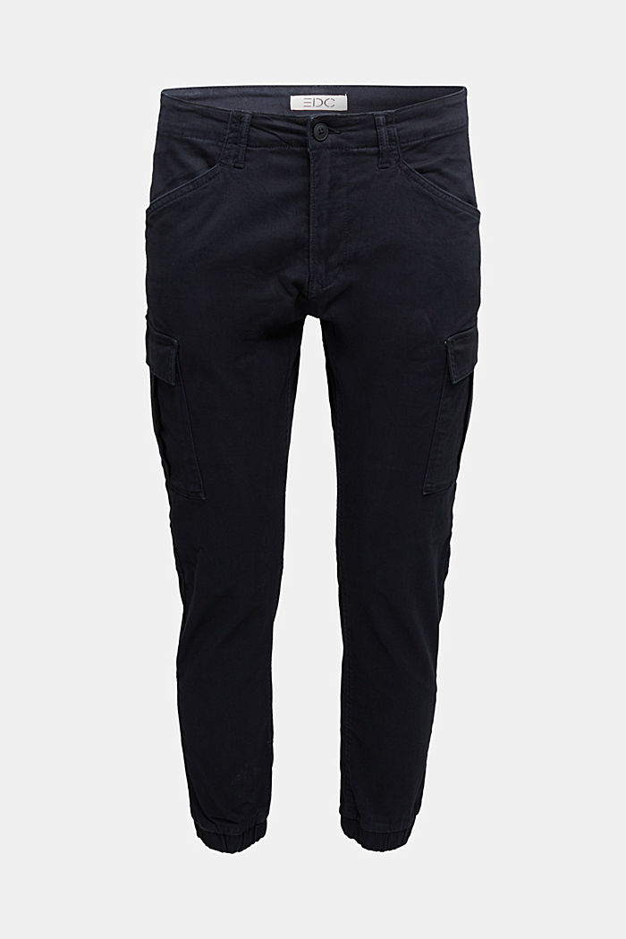 Cargo trousers containing organic cotton, BLACK, detail image number 8