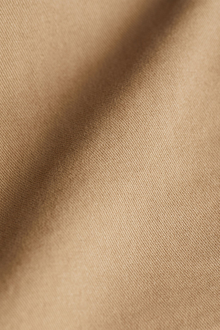 Cargobroek met organic cotton, CAMEL, detail image number 4
