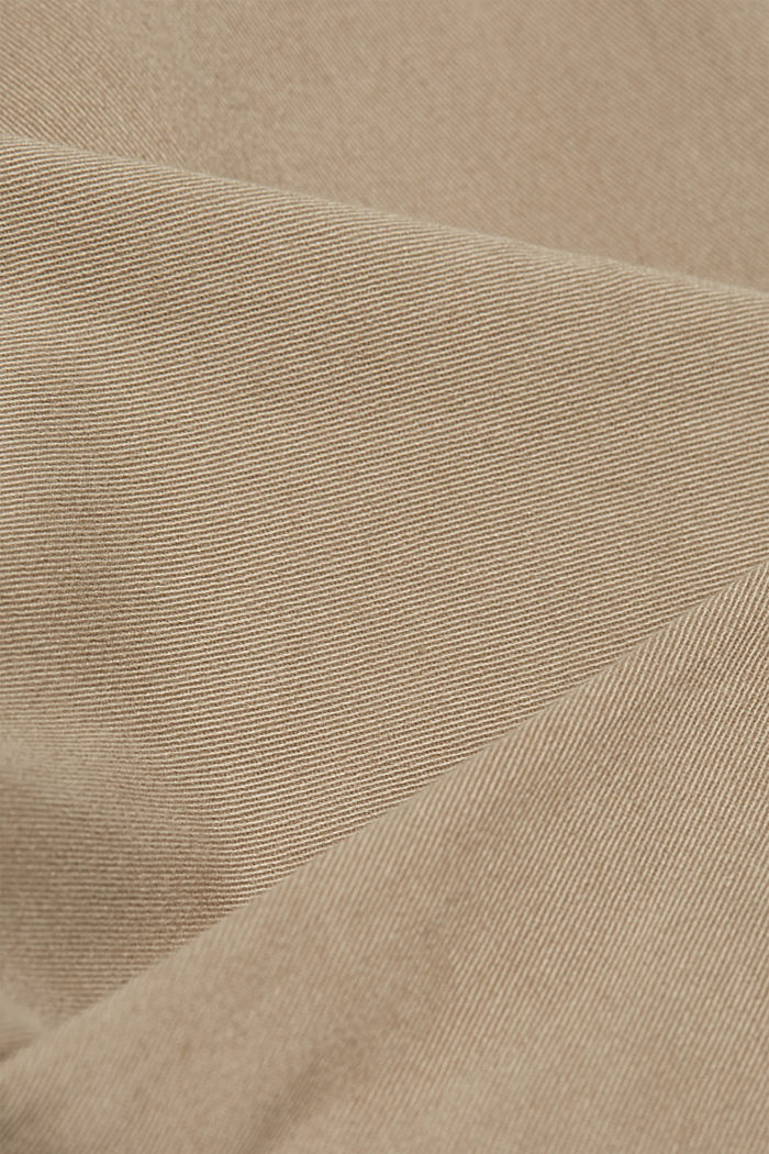 Cargo trousers containing organic cotton, BEIGE, detail image number 4