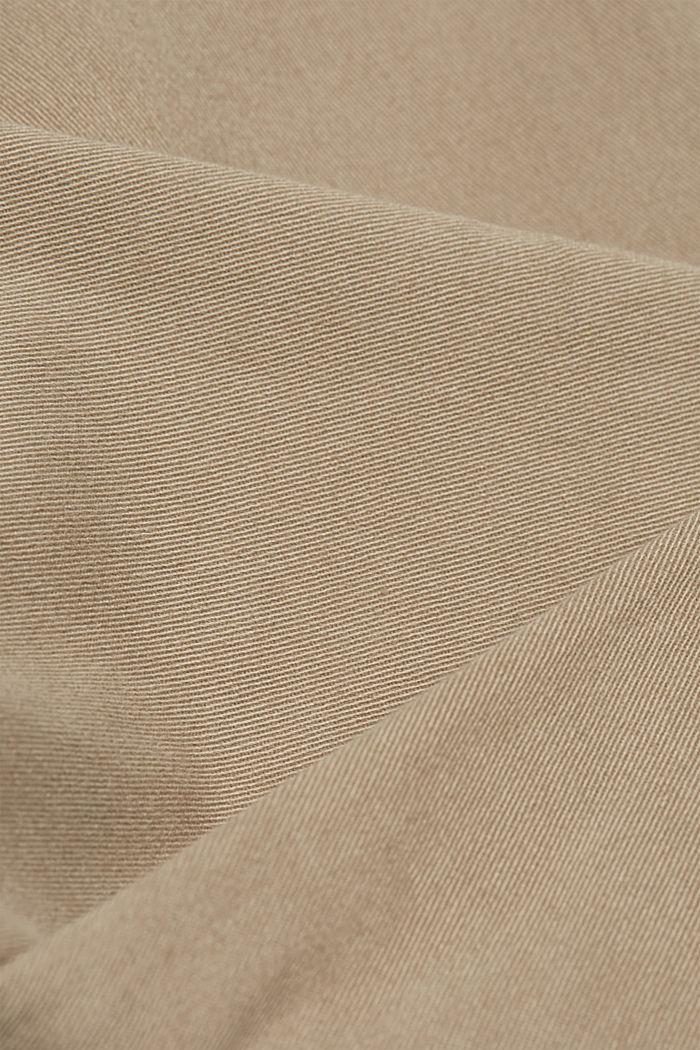 Cargobroek met organic cotton, BEIGE, detail image number 4