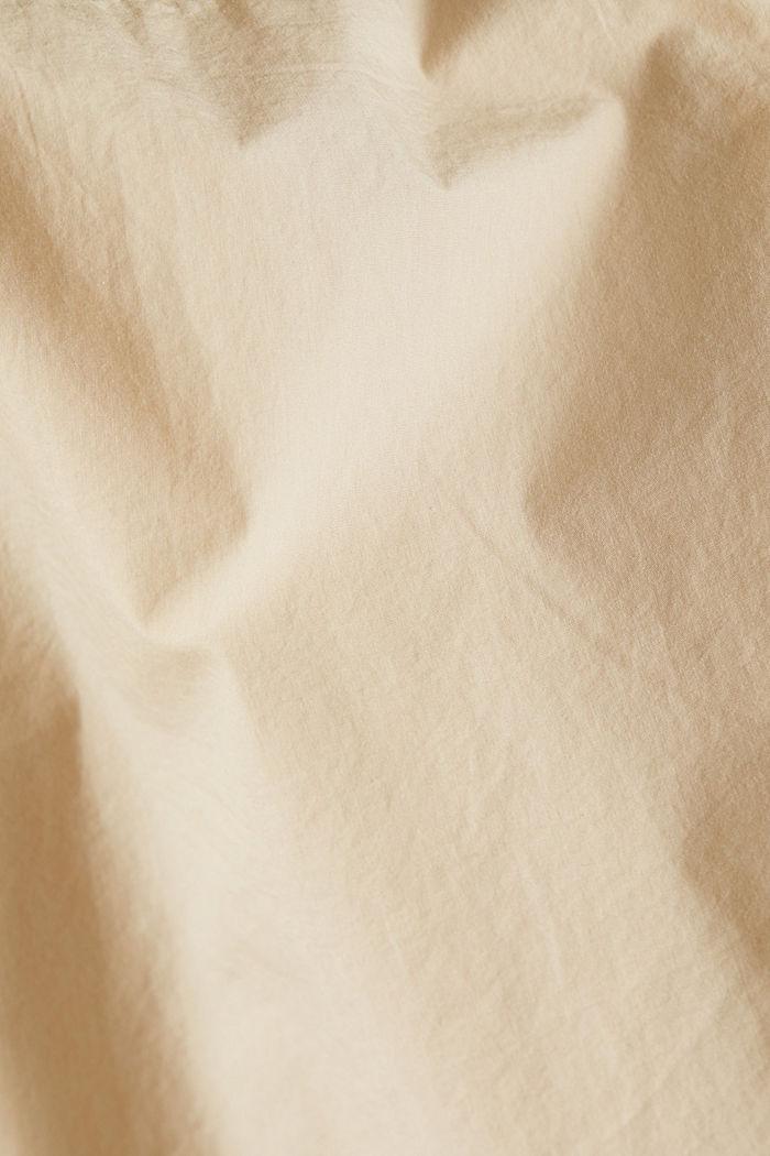 Hemd aus 100% Baumwolle, LIGHT BEIGE, detail image number 4