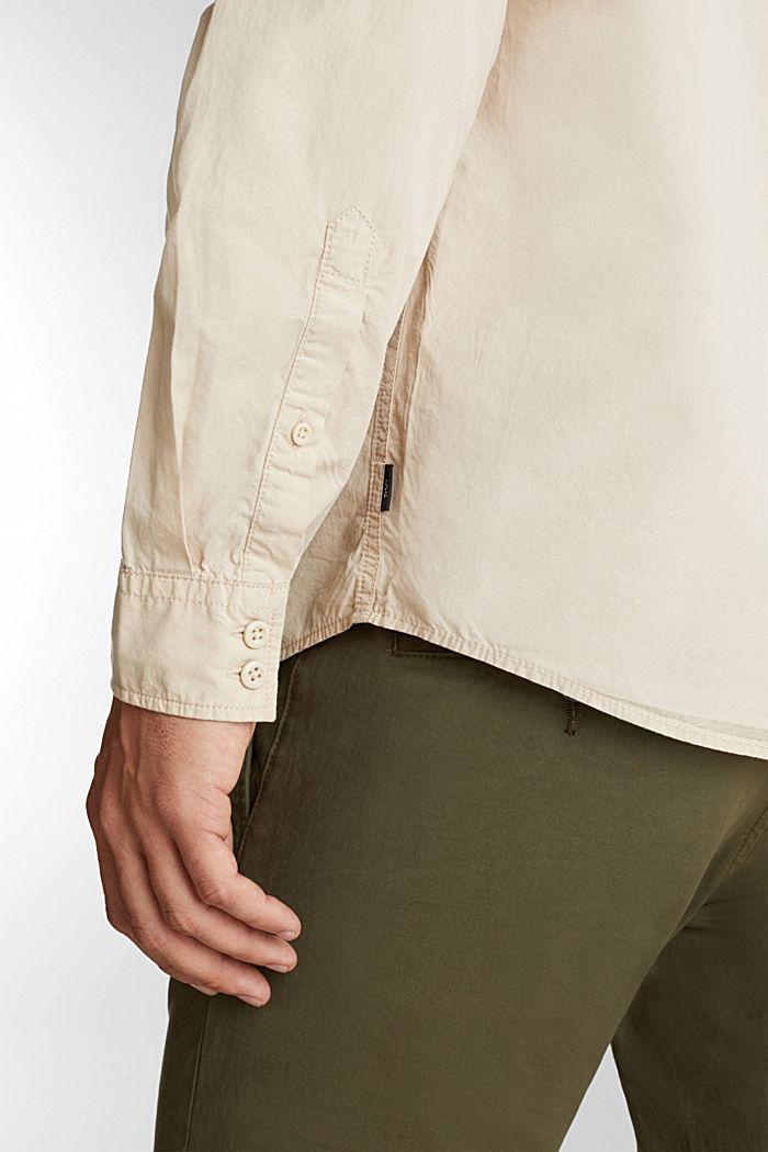 Hemd aus 100% Baumwolle, LIGHT BEIGE, detail image number 5