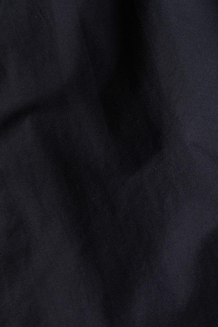 Twill shirt made of 100% organic cotton, BLACK, detail image number 4
