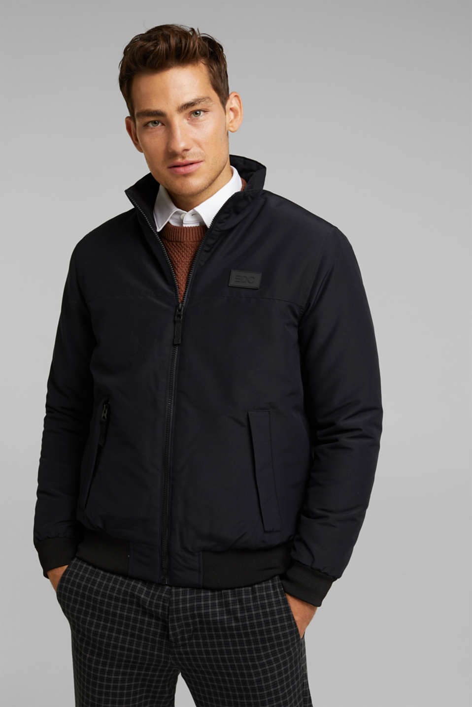 edc - Padded jacket with fleece lining