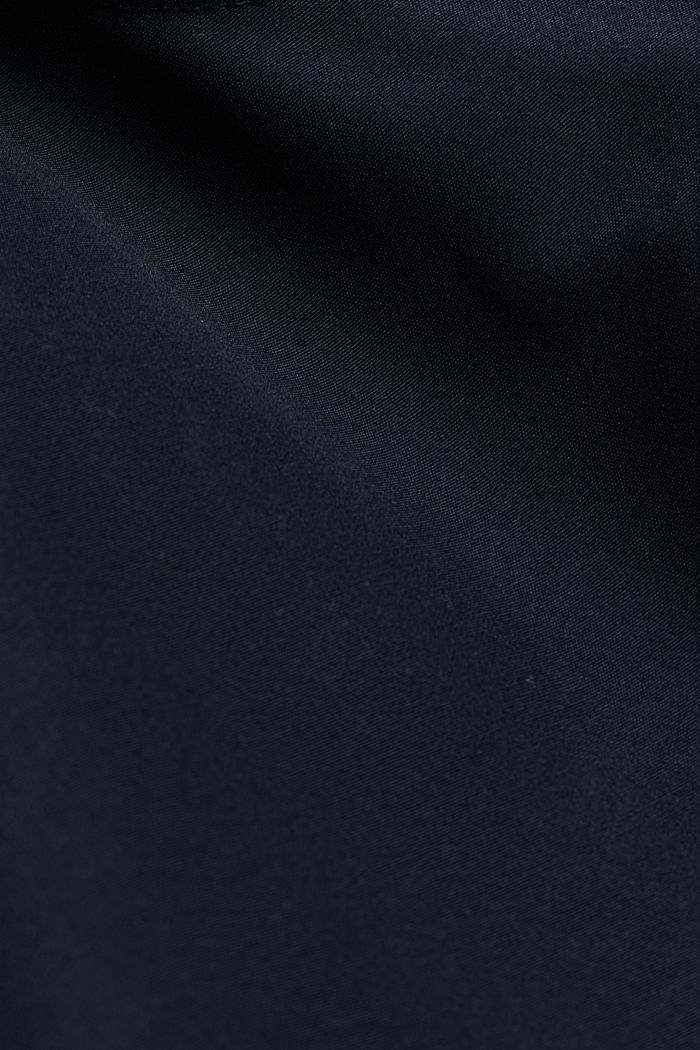 Padded jacket with fleece lining, DARK BLUE, detail image number 4