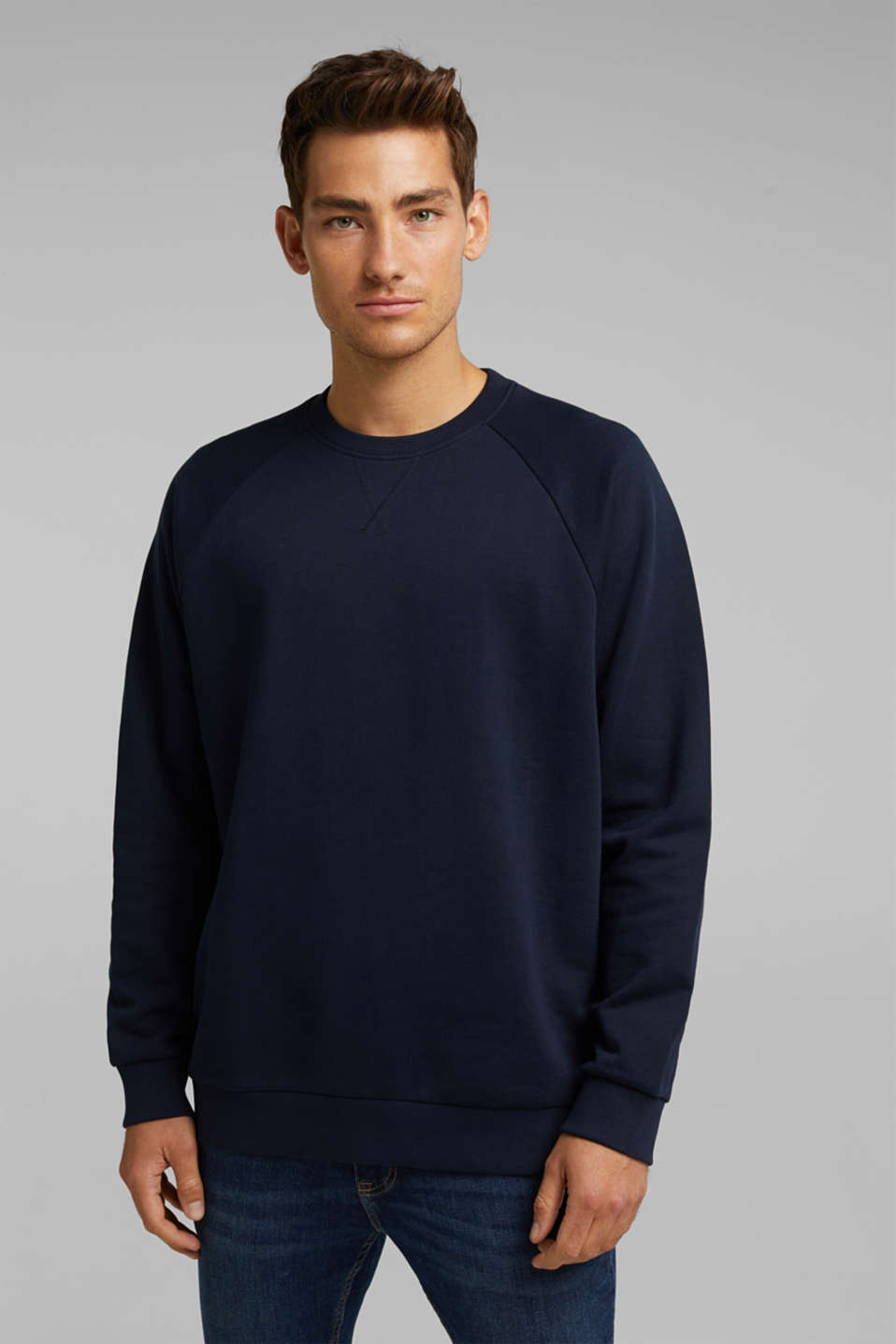 edc - Sweatshirt aus 100% Organic Cotton