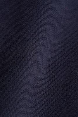 Hoodie in 100% cotton, NAVY, detail