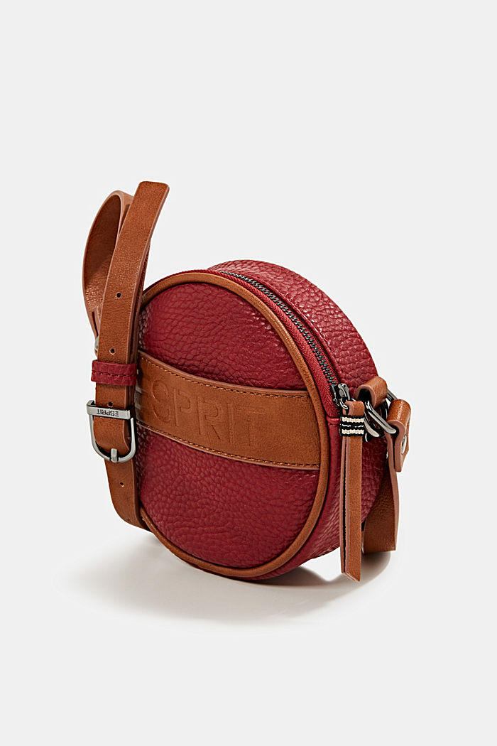 Minnesota T. shoulder bag, DARK RED, detail image number 2