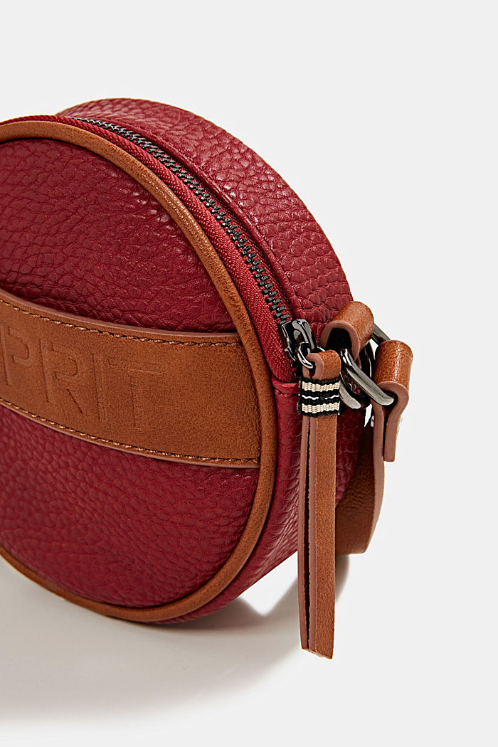 Minnesota T. shoulder bag, DARK RED, detail image number 3