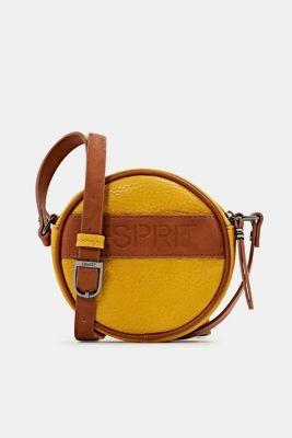 Minnesota T. shoulder bag, BRASS YELLOW, detail