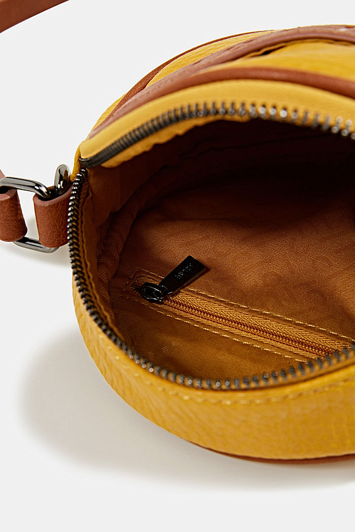 Minnesota T. shoulder bag, BRASS YELLOW, detail image number 4