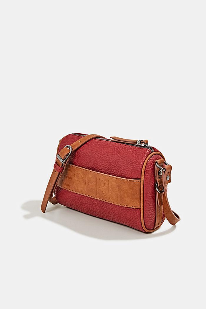 Minnesota T. shoulder bag, DARK RED, detail image number 2