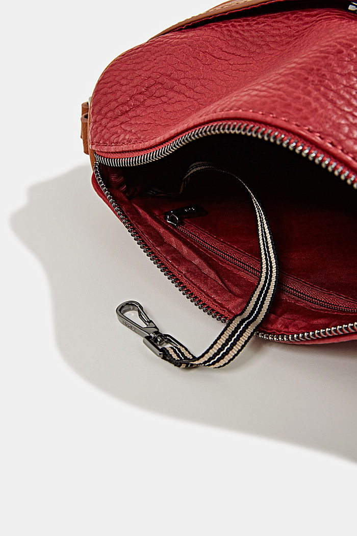 Minnesota T. shoulder bag, DARK RED, detail image number 4