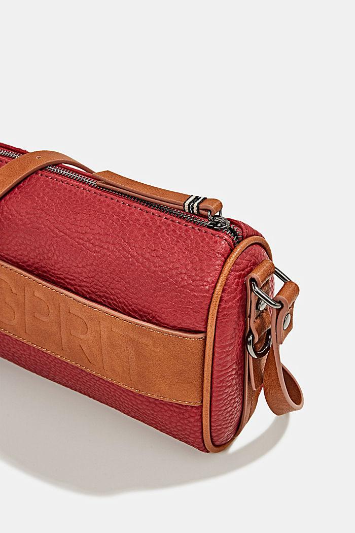 Minnesota T. shoulder bag, DARK RED, detail image number 3