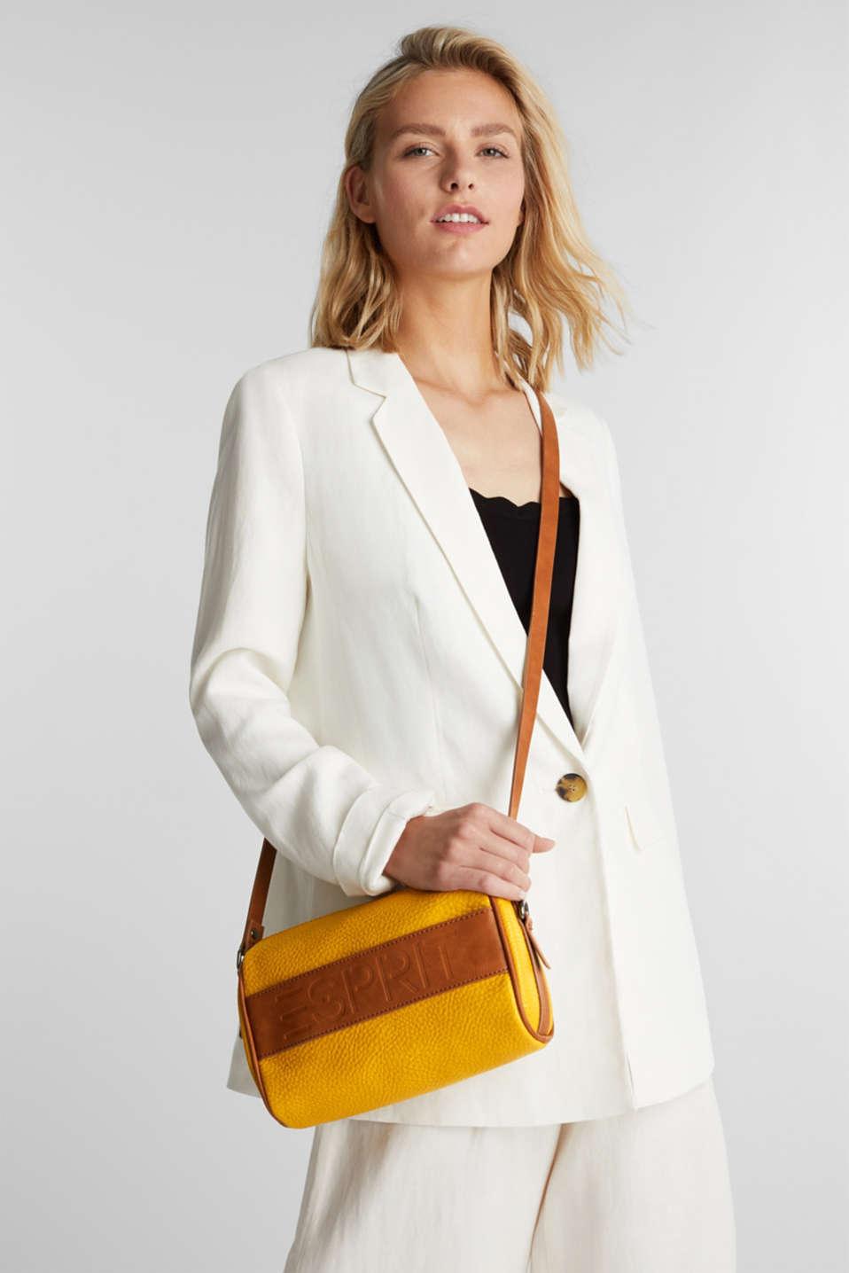 Minnesota T. shoulder bag, BRASS YELLOW, detail image number 5