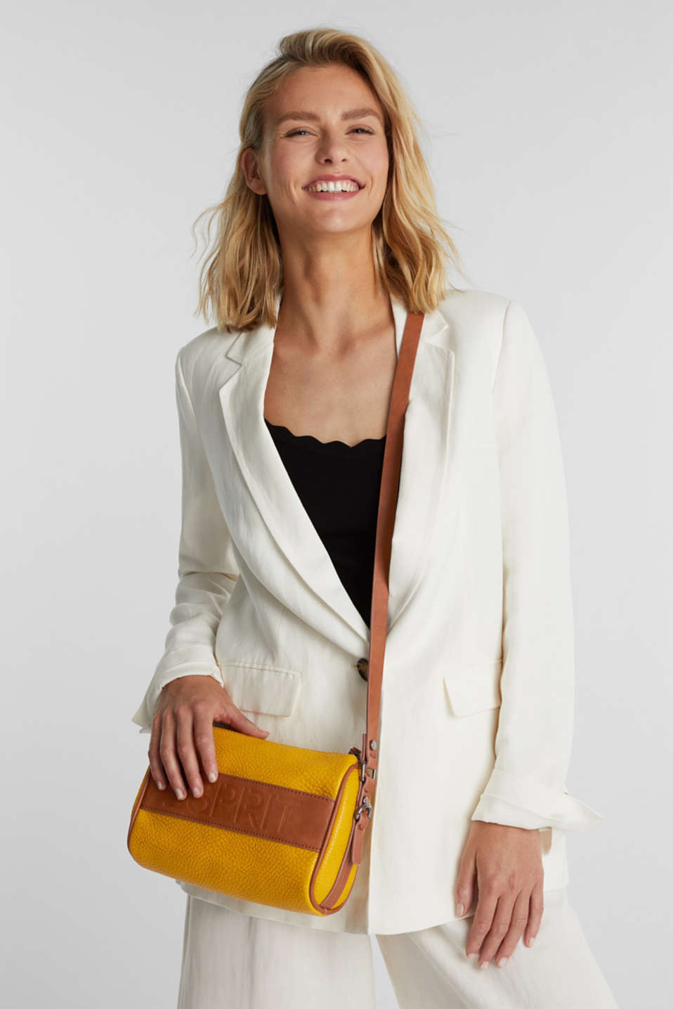 Minnesota T. shoulder bag, BRASS YELLOW, detail image number 1