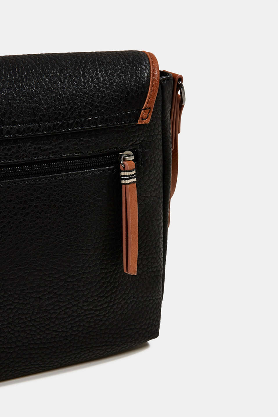 Minnesota T. shoulder bag, BLACK, detail image number 4