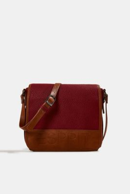 Minnesota T. shoulder bag, DARK RED, detail