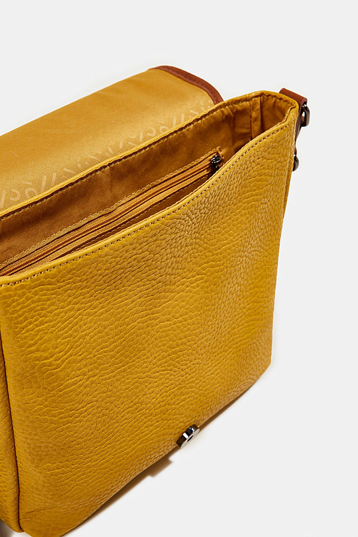 Minnesota T. shoulder bag, BRASS YELLOW, detail image number 4