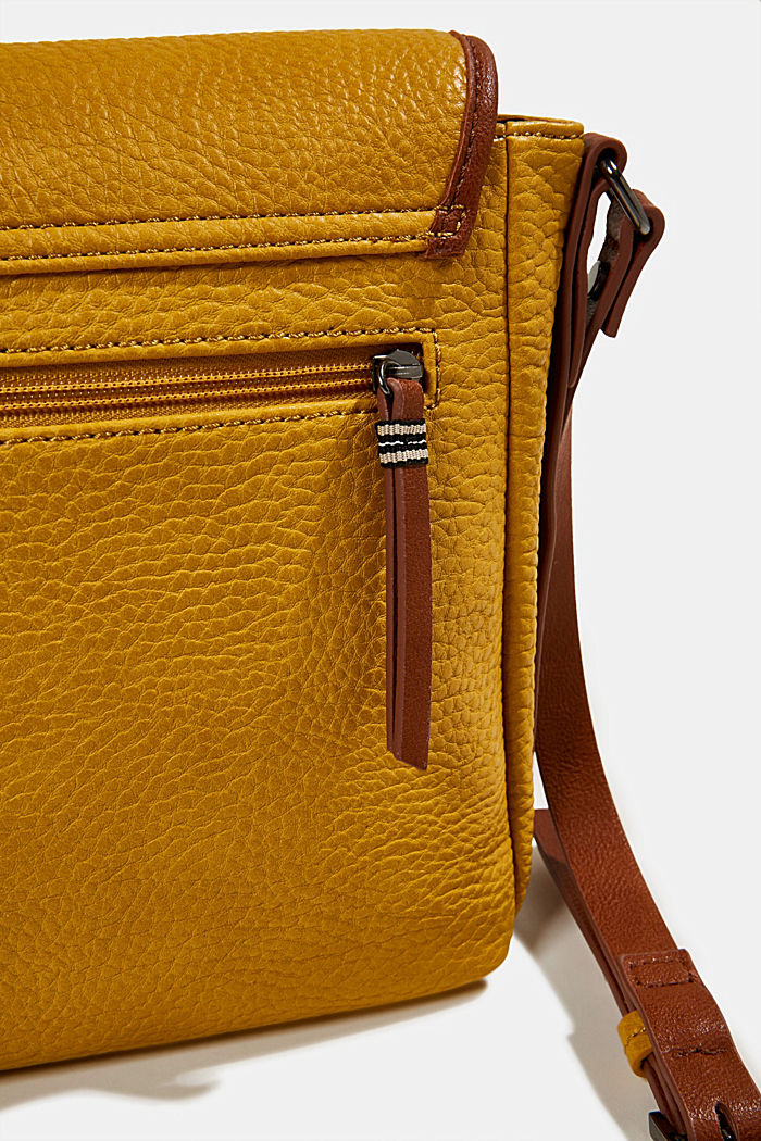 Minnesota T. shoulder bag, BRASS YELLOW, detail image number 3