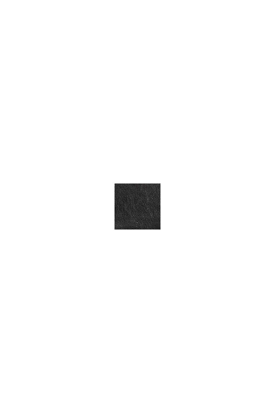 Sac bandoulière en similicuir, BLACK, swatch