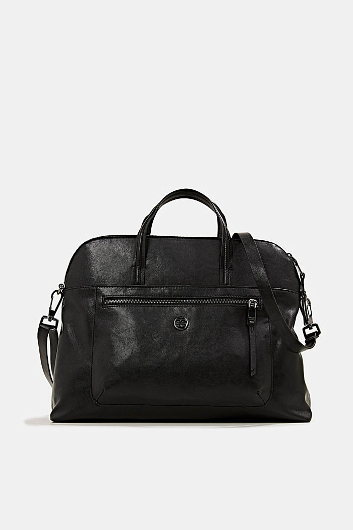 Business bag with a laptop pouch, vegan