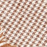 Woven scarf with LENZING™ ECOVERO™, BEIGE, swatch