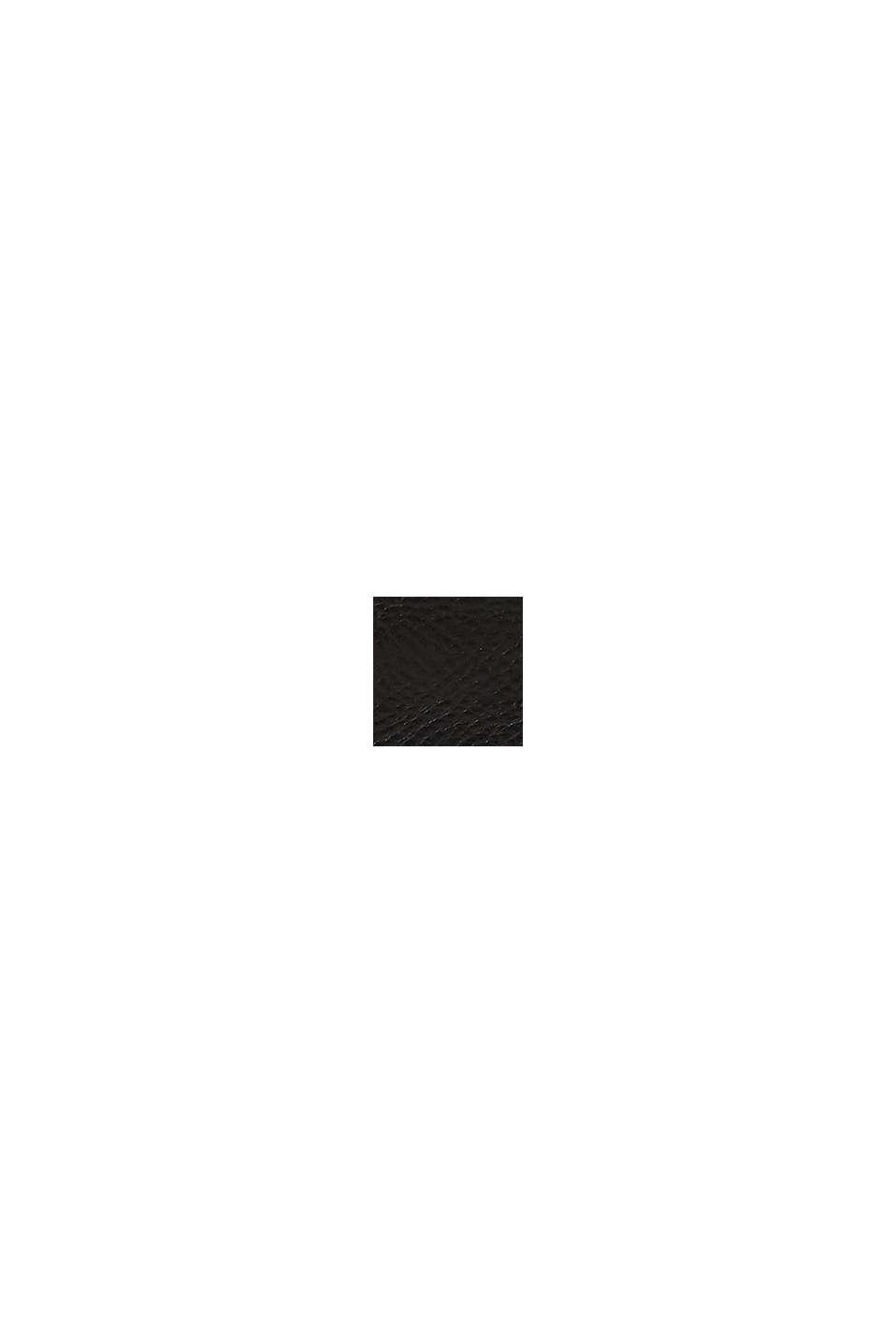 Portefeuille 100% cuir, BLACK, swatch