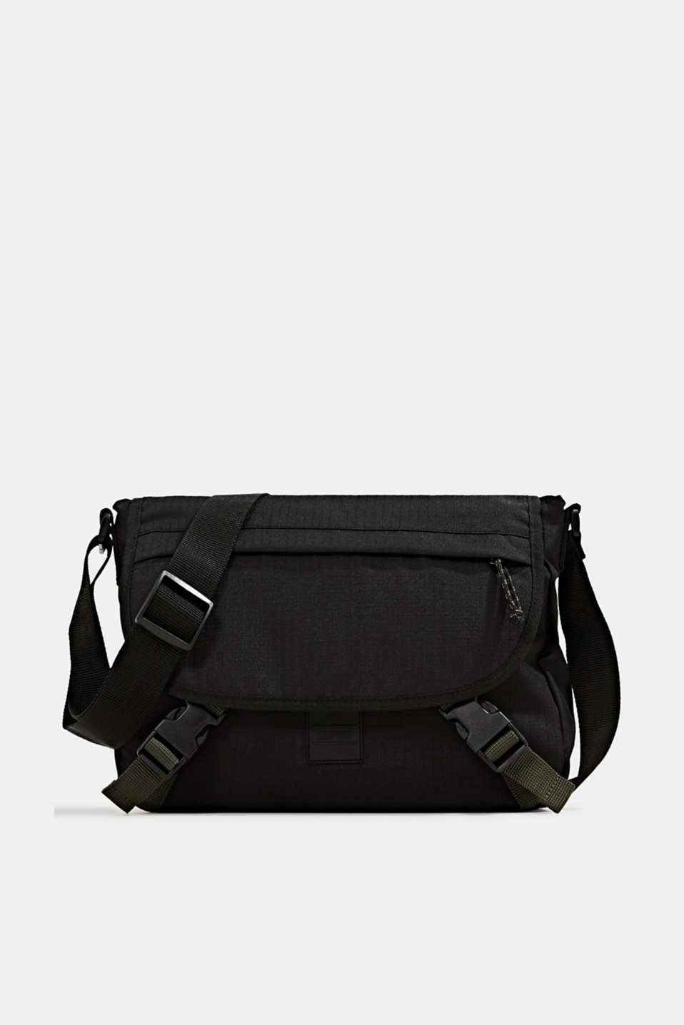 Esprit - Messenger-bag i robust tekstil